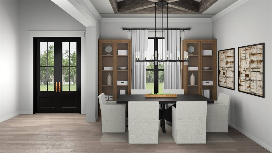 Dining Room image of Walden House Plan