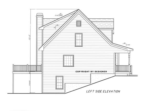 Left Elevation