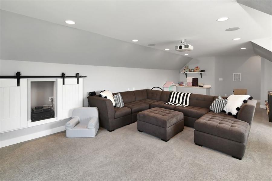 Bonus Room by DFD House Plans