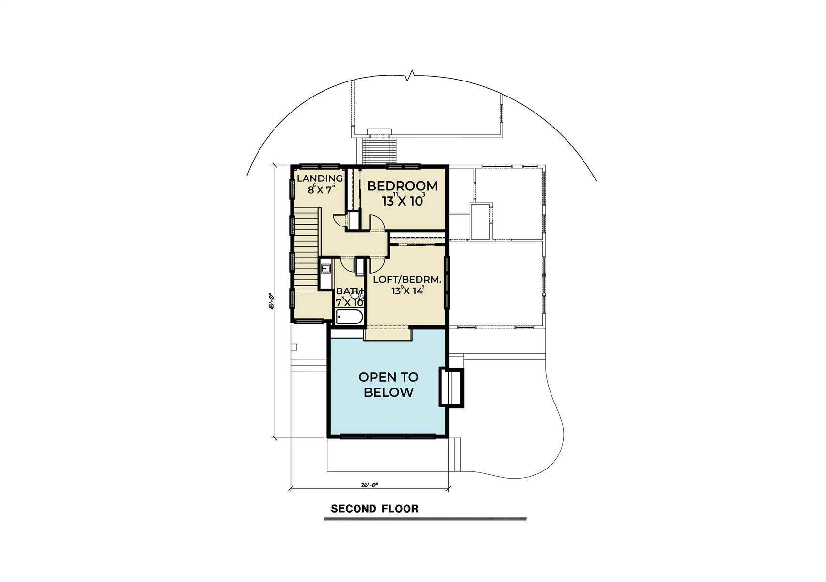 Contemporary House Plan With 3 Bedrooms