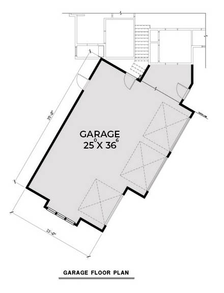 Garage Floor Plan