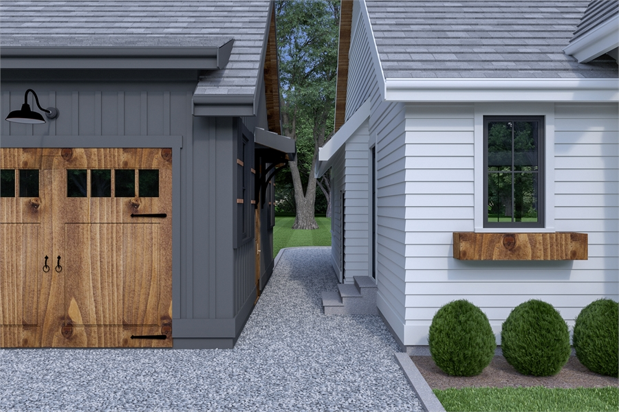 Detached Garage image of Roxbury Cottage House Plan