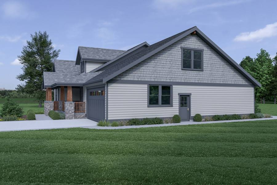 Right View image of Northwest 602 House Plan