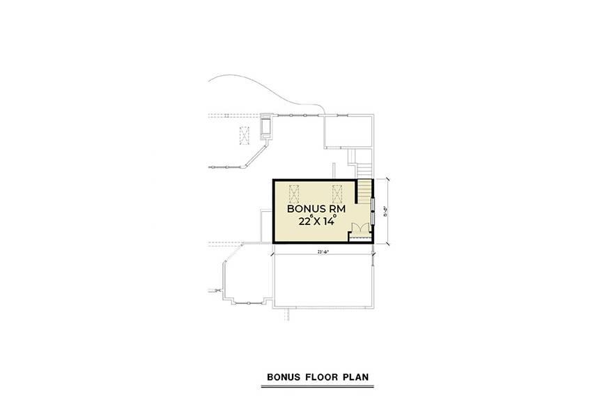 Bonus Plan image of Northwest 602 House Plan