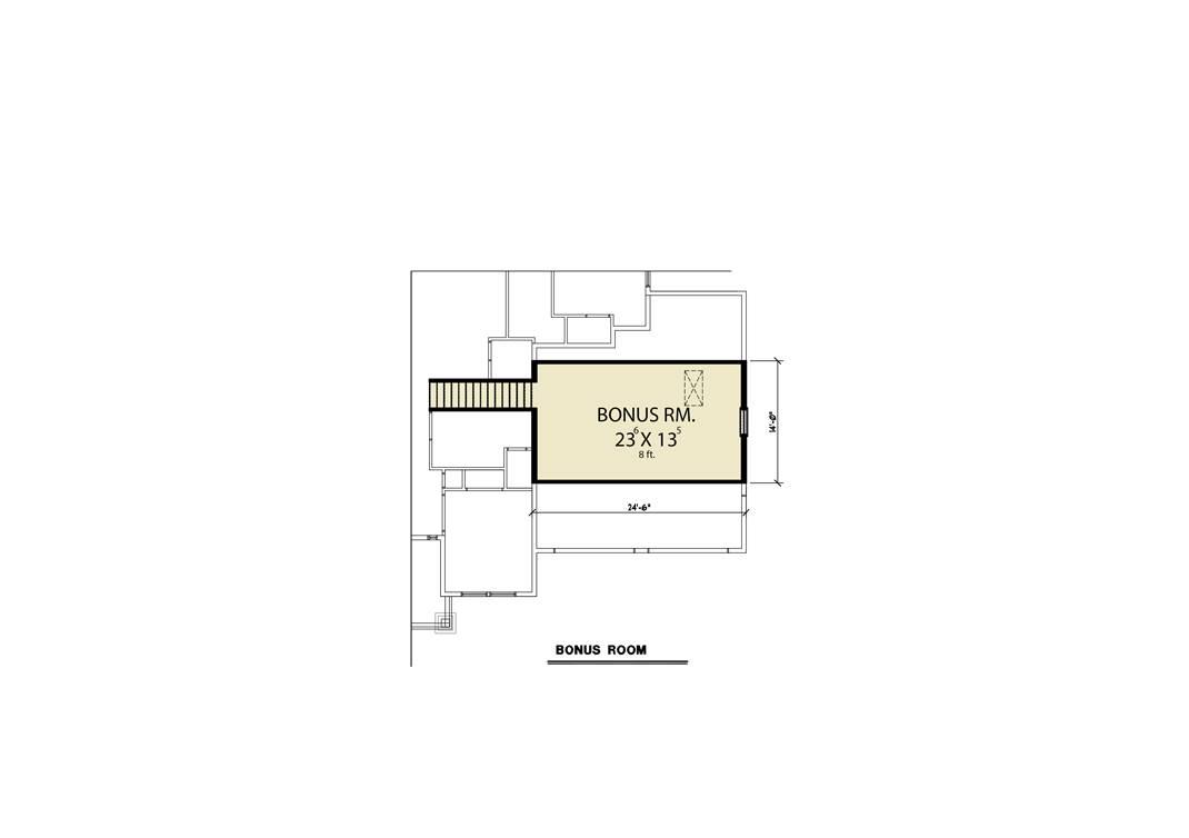 Bonus Plan image of Craftsman 312 House Plan