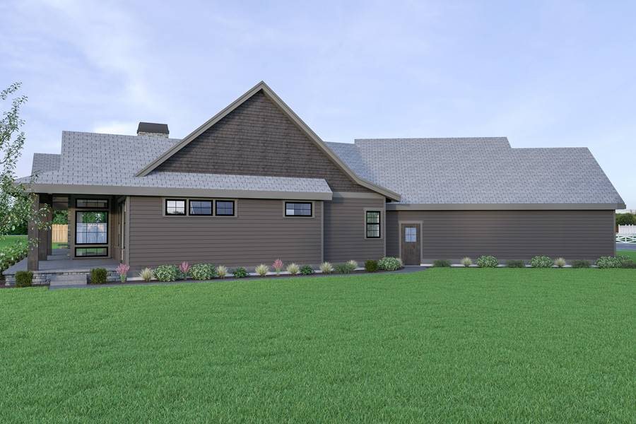Left View image of Northwest 622 House Plan