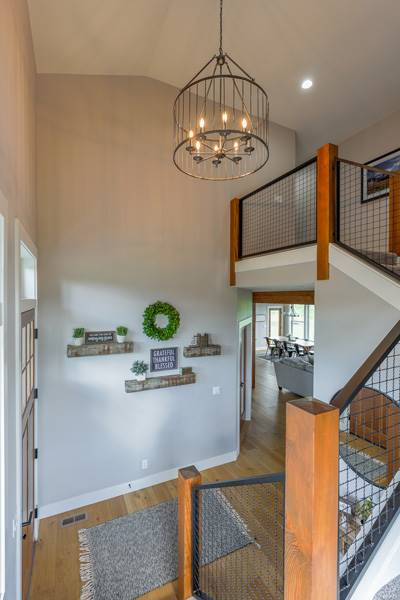 Foyer image of Cont. Farmhouse 845 House Plan