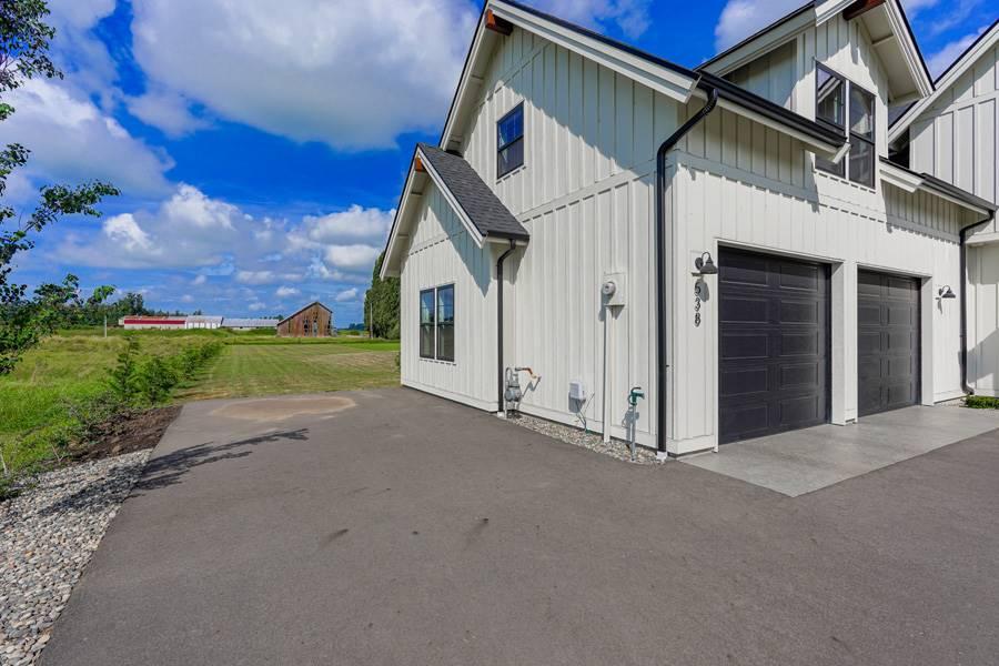 Garage image of Cont. Farmhouse 845 House Plan
