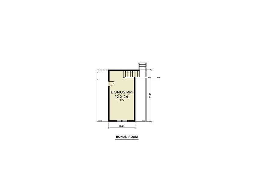 Bonus Plan image of Craftsman 315 House Plan
