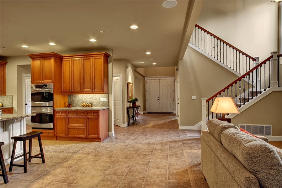 Kitchen / Family Room by DFD House Plans