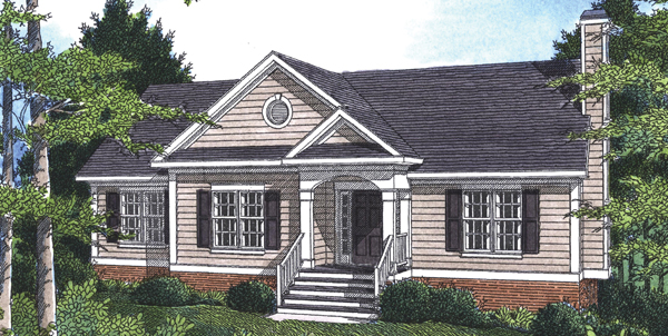 Rendering image of DICKENS II-C House Plan