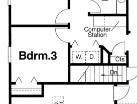 Basement Option by DFD House Plans