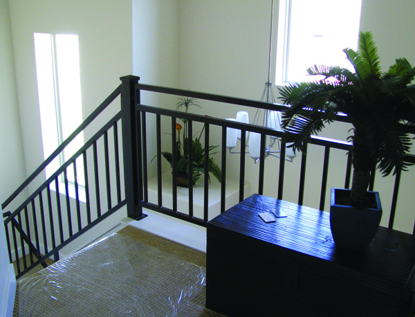 Foyer Stairs image of Highlands House Plan
