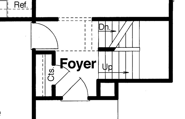 Basement Option image of Highlands House Plan