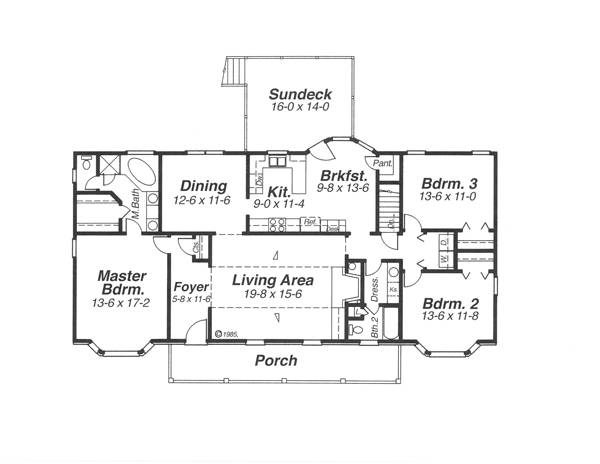 House Underwood House Plan House Plan Resource