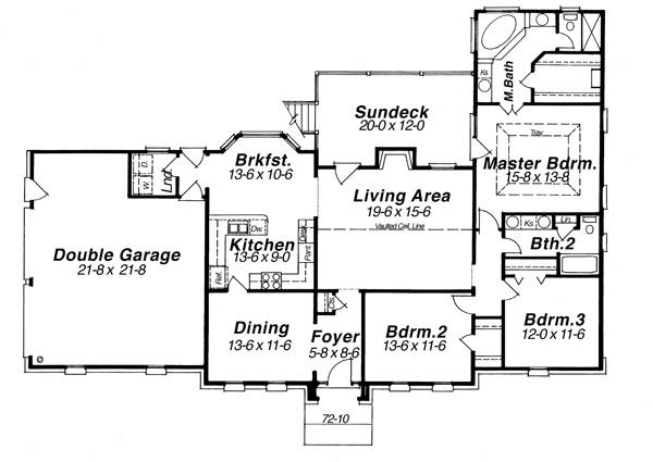 House HENSLEY House Plan House Plan Resource