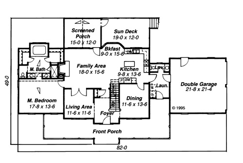 House Garrison House Plan House Plan Resource