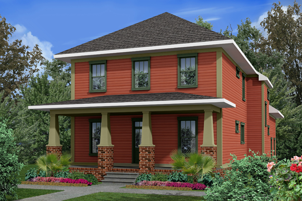 Rendering B by DFD House Plans