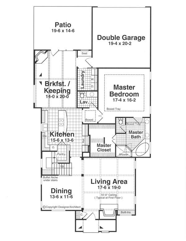 House Canterbury House Plan House Plan Resource