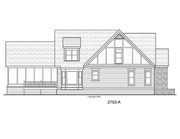 House Fairfax House Plan House Plan Resource
