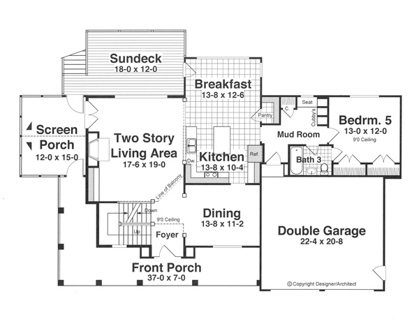 House CAMPBELL House Plan House Plan Resource