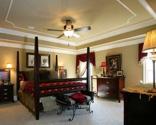 Master Bedroom image of Kensington I - A House Plan