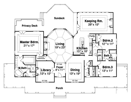 House CARNEGIE II House Plan House Plan Resource