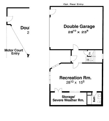 Ground Level by DFD House Plans