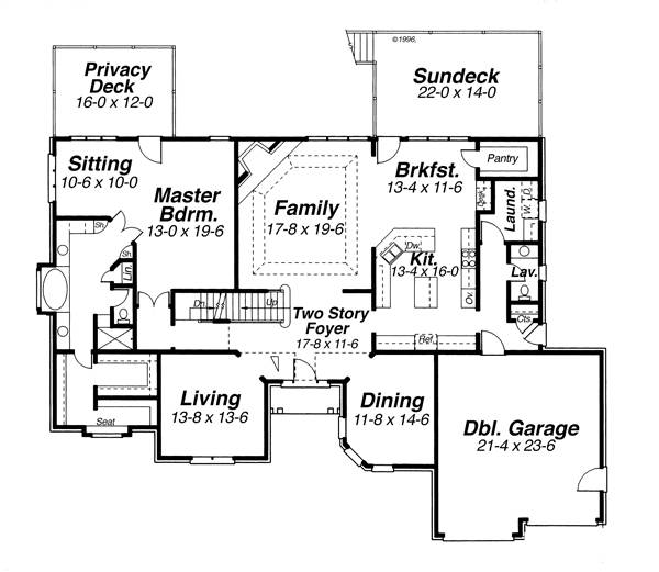 House BELVIDERE House Plan House Plan Resource
