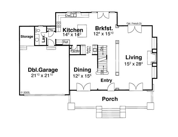 House HAMPTON House Plan House Plan Resource