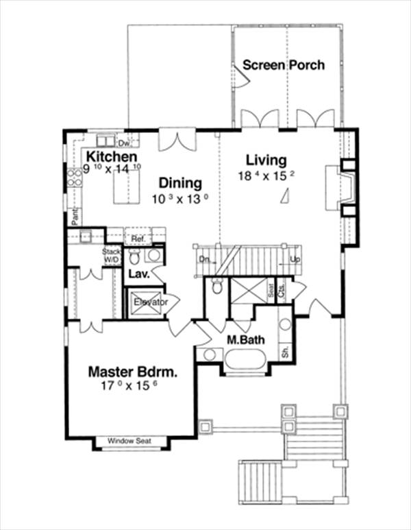 Cottage House Plan With 4 Bedrooms And 3 5 Baths Plan 6353