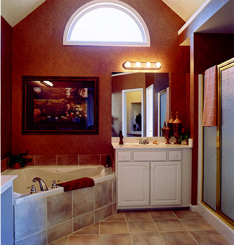 Master Bathroom by DFD House Plans