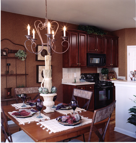 Kitchen-View from Breakfast Area by DFD House Plans