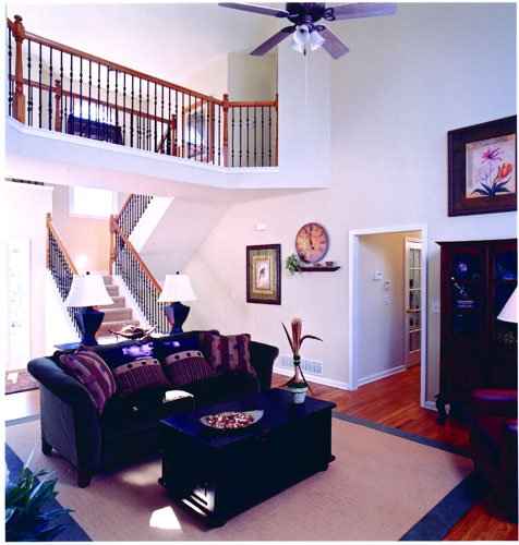 Living Area 1 by DFD House Plans