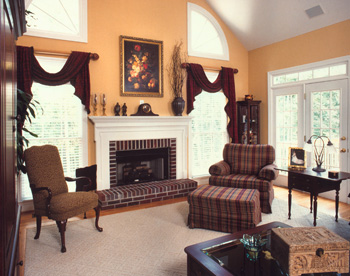 Family Room View 2 by DFD House Plans