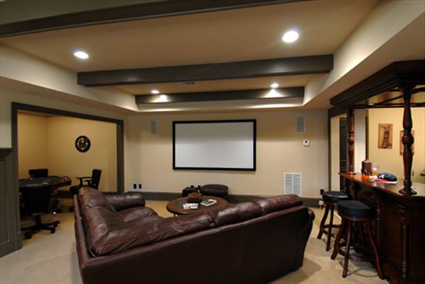 Recreation Room 2 by DFD House Plans