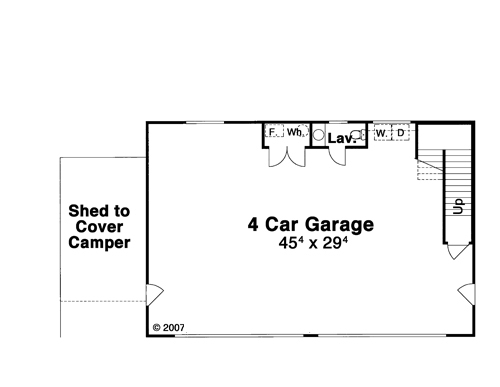 First Floor image of KIPLING House Plan
