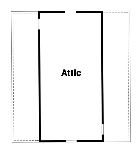 Attic by DFD House Plans