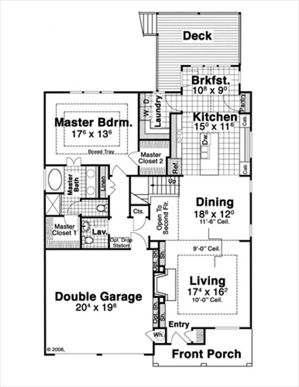 House ADAMS I House Plan House Plan Resource