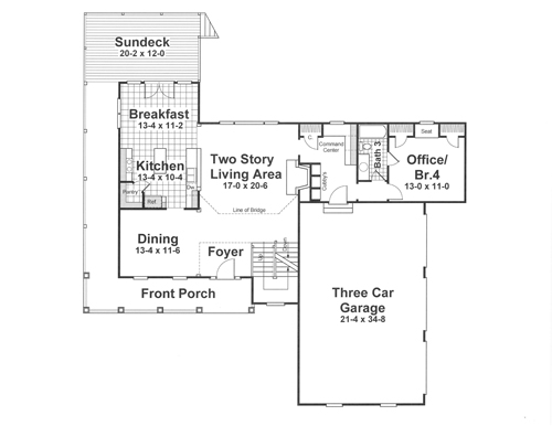 House MCINTOSH II House Plan House Plan Resource