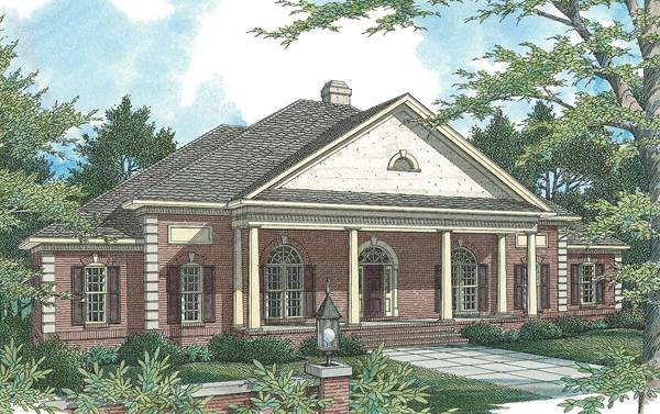 Rendering image of VICTOR House Plan