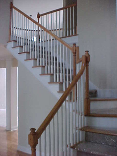 Foyer Stairs by DFD House Plans
