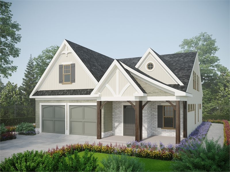 Front View image of Birmingham House Plan