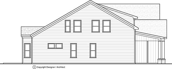Side View image of Wimbly House Plan