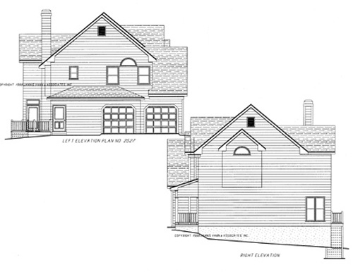 Side Elevations by DFD House Plans