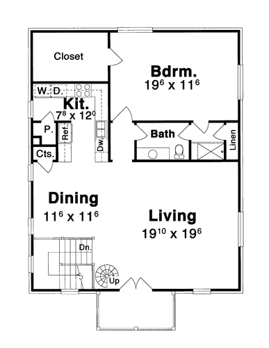 Garage Apt. image of HANSON V House Plan