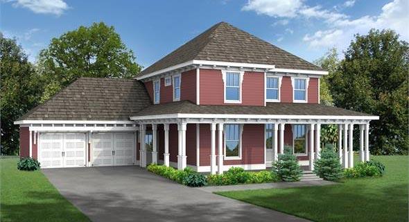 Rendering image of Hawthorne IIC House Plan