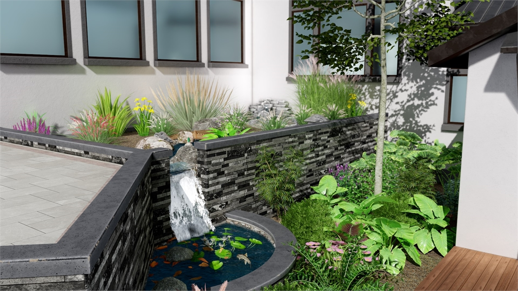 Patio Feature by DFD House Plans