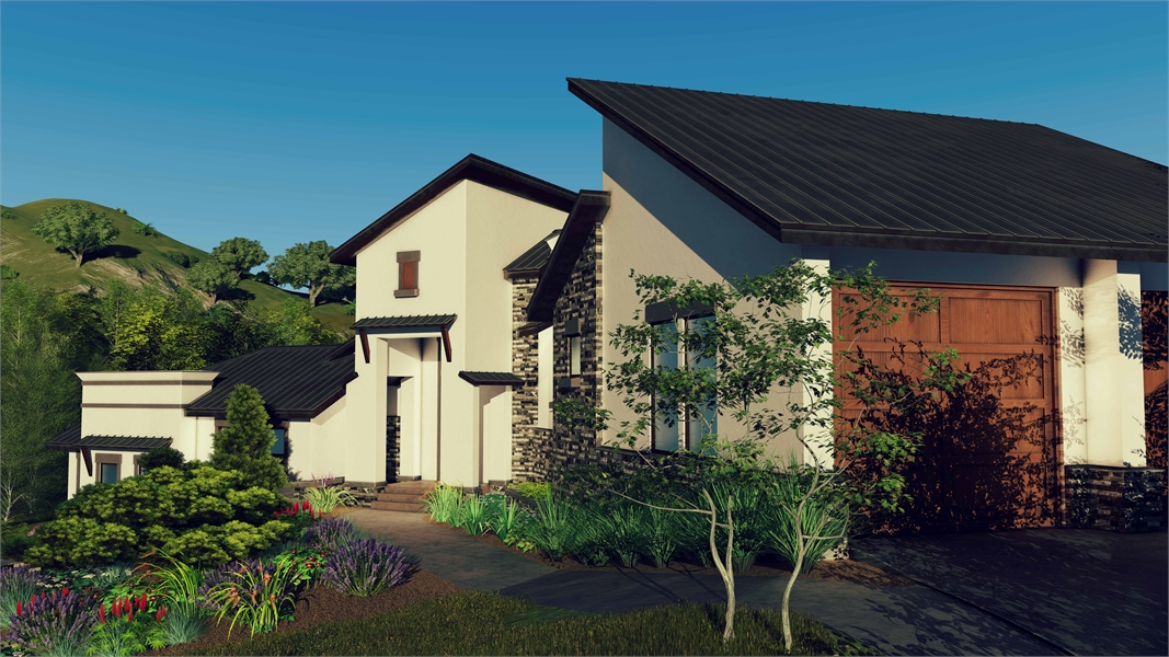 Front 5 by DFD House Plans