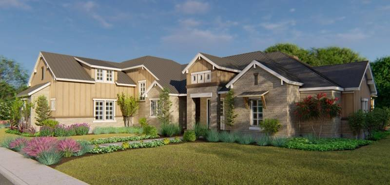 Right View by DFD House Plans